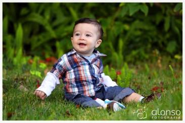 Enrico, 9 meses. Book fotográfico para bebê. Florianópolis