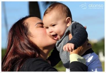 Philip Bernard, 6 meses - Book bebê externo