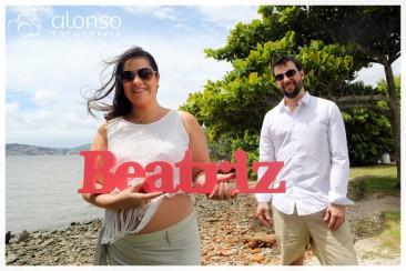 """""""Esperando Beatriz"""" Book fotográfico em Florianópolis"""