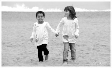 Ines e Naiara.  Book fotográfico infantil, Florianópolis