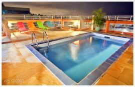 Piscina, Rio Branco Apart Hotel. Florianópolis