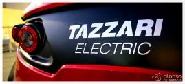 Veículo elétrico Tazzari.