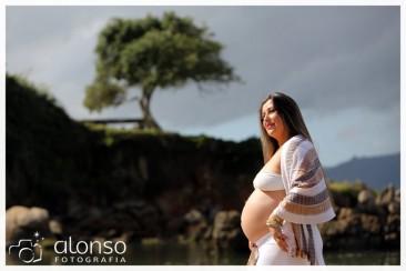 Keli, 8 meses. Book de gestante. Florianópolis