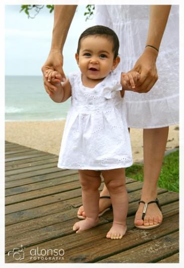 Lara, 7 meses. Book bebê, Florianópolis