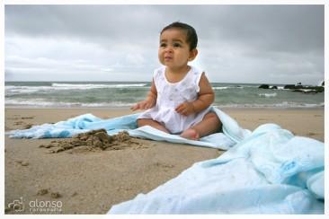 Lara, 7 meses. Book bebê