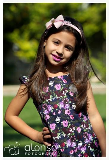 Rafaella, 4 anos. Book fotográfico. Florianópolis