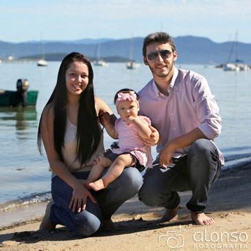 Foto familiar em Florianópolis