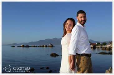 Ivana e Rafael. Ensaio Pré-casamento. Florianópolis