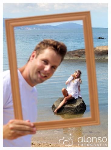 Liziane e Victor Hugo. Aniversário 4 anos de casamento. Florianópolis