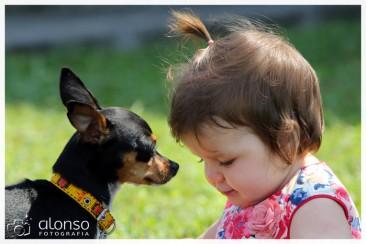 Book fotográfico pet + bebê, Florianópolis