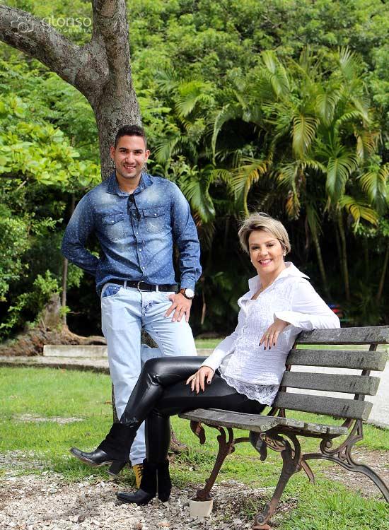 Book casal no parque