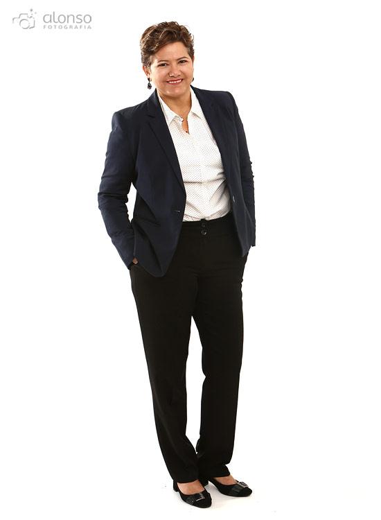 Ensaio feminino para perfil profissional
