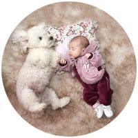 Francine Trindade Book bebê depoimento