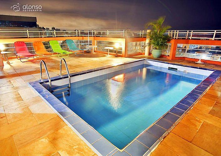 Piscina Hotel Rio Branco Apart Hotel