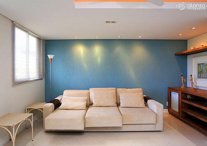 Sala de apartamento para locação em Jurere Florianópolis
