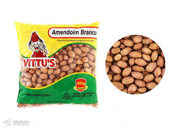Amendoin branco vittus foto de produto