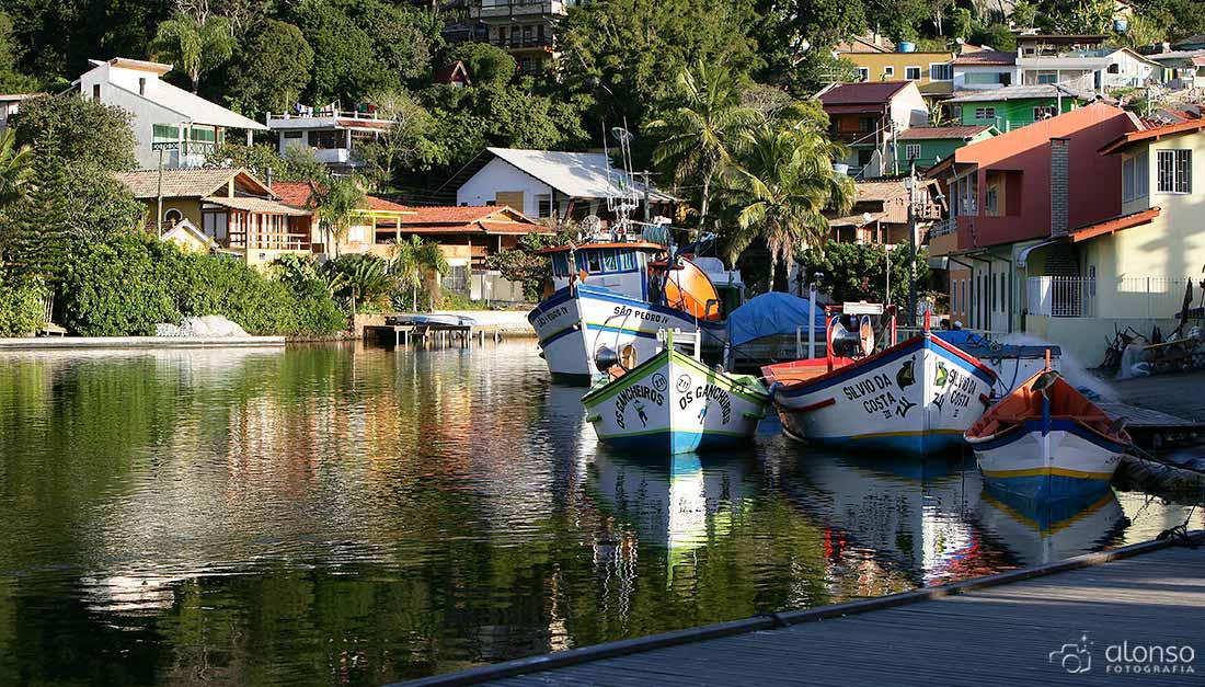 Barra da Lagoa, comunidade pesqueira