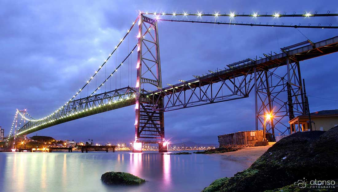 O que fazer em Florianópolis ponte Hercílio Luz
