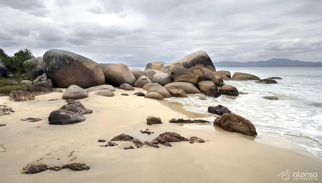 Pedras na Ponta das Canas