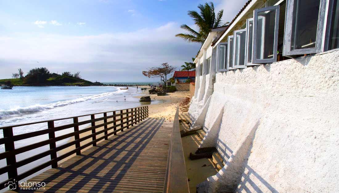 Praia de Armação em Florianópolis