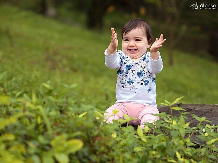 Ensaio bebê jardim Floripa