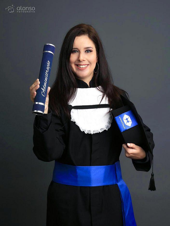 Ivana ensaio de formatura