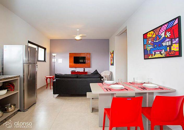 Cozinha americana Barra Holiday Apartamentos
