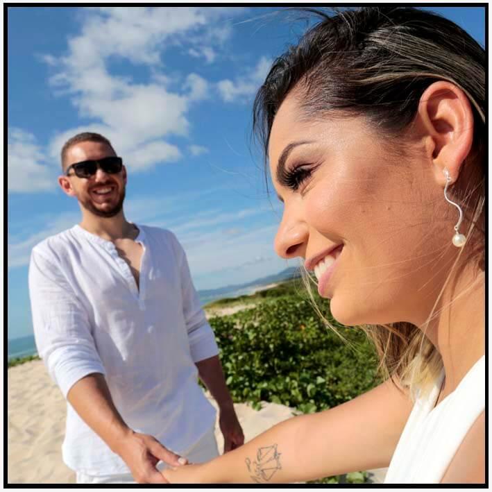 Ensaio pré-casamento em Floripa na Alonso Fotografia